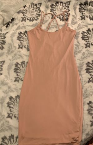 Dress - Pink skin tight for Sale in San Leandro, CA