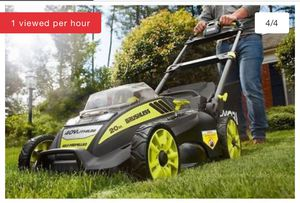 Ryobi Self-propelled Mower Walk Behind 20 In. 40v Lithium-ion Cordless Wheels HD for Sale in Atlanta, GA