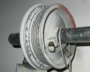Garage door cable off for Sale in Poinciana, FL