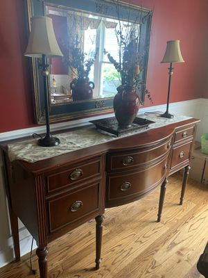 Antique sideboard cabinet for Sale in Baltimore, MD