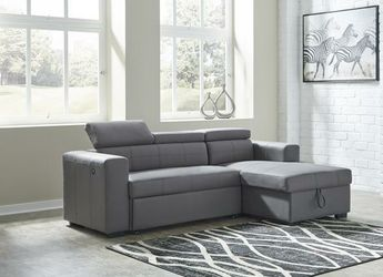 Salado Gray Sleeper Sectional with Storage for Sale in Cedar Park,  TX
