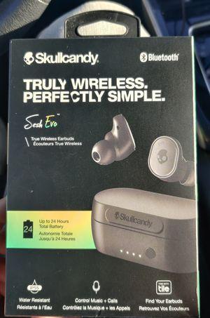 SkullCandy Sesh Evo Bluetooth Wireless Earbuds for Sale in Henderson, NV