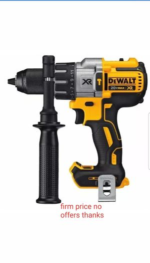 "DEWALT Max XR 20V DCD996B Li-Ion 1/2"" Cordless Hammer Drill (tool Only). battery or charger not included for Sale in Upper Marlboro, MD"