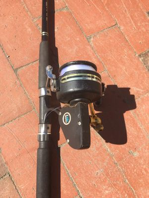 fishing rod and reel for Sale in North Andover, MA