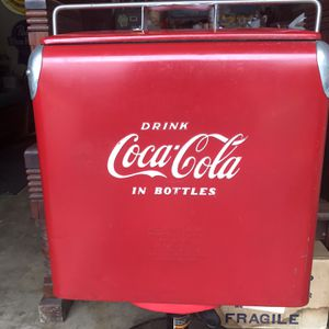 COCA COLA COOLER VINTAGE VERY NICE for Sale in Plainfield, IL