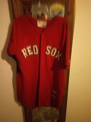 Athentic red Sox jursy for Sale in Bellevue, WA