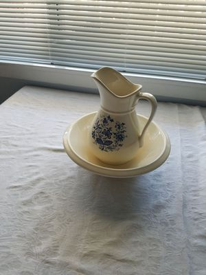 Pitcher and basin for Sale in Fresno, CA