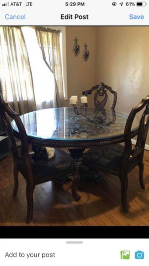 Beautiful Glass Table for Sale in Lodi, CA