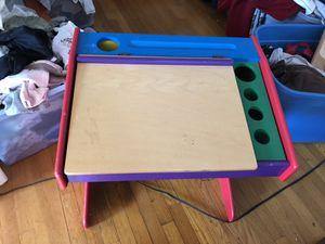 Kids art desk (wooden) for Sale in North Plainfield, NJ