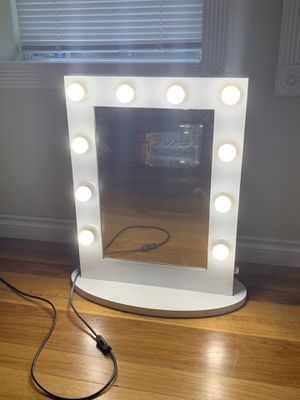 Hollywood Vanity Mirror with dimmable lights for Sale in Portland, OR