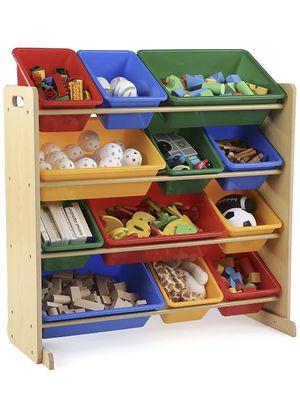 Kids toy / Plastic bin storage display for Sale in Washington, DC