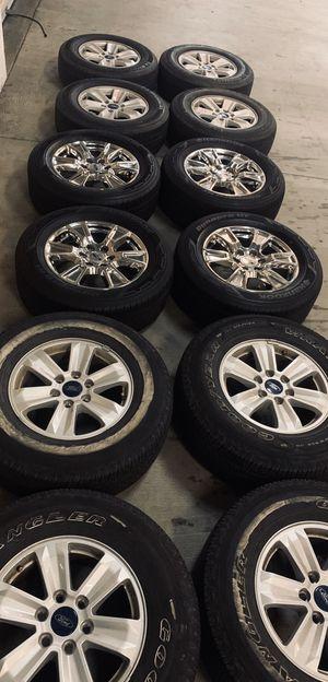 F150 F-150 Expedition Wheels Rims Tires Rines llantas Yantas for Sale in Inglewood, CA