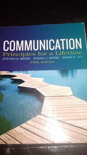 COMMUNICATION TEXTBOOK for Sale in KINGSVL NAVAL, TX