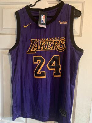 NIKE KOBE BRYANT PURPLE JERSEY SIZE LARGE for Sale in Los Angeles, CA