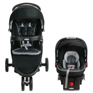 Graco FastAction Fold Sport Click Connect Travel System for Sale in Nashua, NH