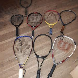 Tennis Rackets $10 Each for Sale in Pasadena, TX