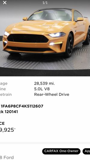 2019 Ford Mustang GT for Sale in Washington, DC