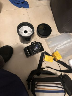 MINOLTA, camera bag, films, developing tank for Sale in Queens, NY