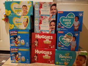Pampers huggies Honest diaper for Sale in Redlands, CA