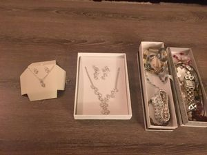 Mix of nice jewelry: necklaces, earrings and bracelets for Sale in San Diego, CA