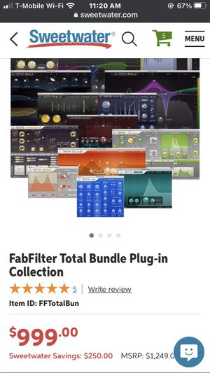 Fab filter total bundle for Sale in Modesto, CA