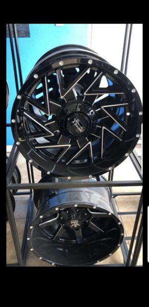 20x10 Impact Off-road Wheels for Sale in Phoenix, AZ