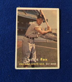 Nellie Fox, Chicago White Sox Baseball Trading Card for Sale in San Antonio, TX