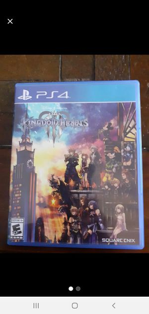 Ps4 KINGDOM HEARTS NEWEST ONE for Sale in The Bronx, NY