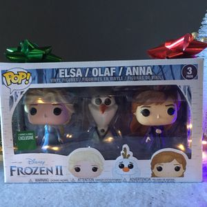 Frozen 2 Funko Pops 3 Pack for Sale in Paramount, CA