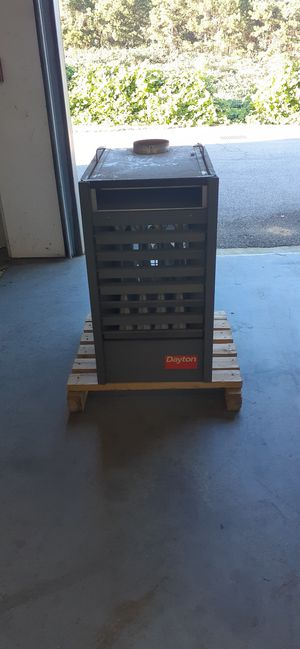 Dayton Furnace (Heaters 4) Model # 3E228D for Sale in Raleigh, NC