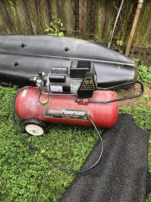 Coleman Powermate 25 gal air compressor for Sale in Rockville, MD