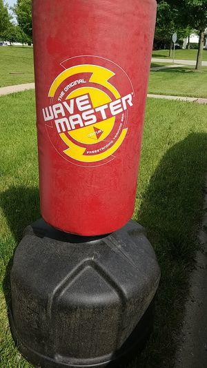Wavemasrer punching bag training sack for Sale in CARPENTERSVLE, IL