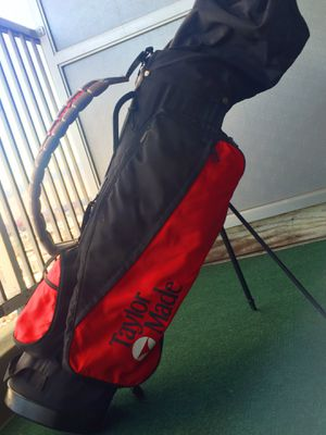TAYLORMADE GOLF CART BAG W/ 7 GOLF CLUB SET for Sale in Bronx, NY