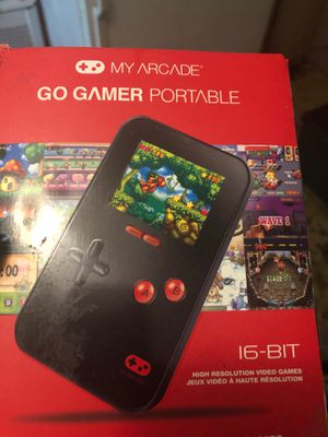 Go game or a portable gaming system with 220 games works great with box for Sale in Fitchburg, MA