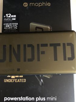 Undefeated Mophie Powerstation Plus Mini Used for Sale in Los Angeles,  CA