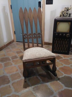 Rare Arts and Crafts Mission Art Deco Rocking Chair for Sale in Phoenix, AZ