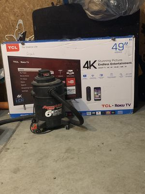 49 inch TCL Roku Tv for Sale in Indianapolis, IN