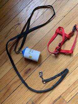 Small Pet Harness, Leash, Waste Bag Holder for Sale in Columbus,  OH