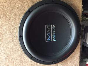 2 Polk Audio Subwoofers for Sale in Austin, TX