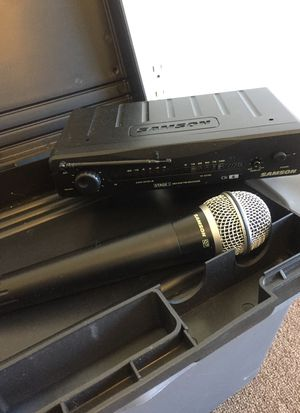 WIRELESS SAMSON LIVE/Recording Microphone!!!Works Great!! for Sale in Streetsboro, OH
