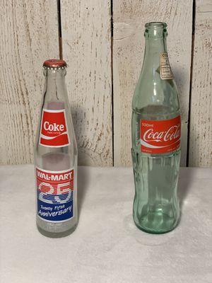 Coca Cola glass bottles for Sale in White Settlement, TX