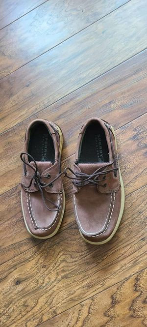 Boys Sperry Topsider Shoes sz 2 for Sale in Madison Heights, VA