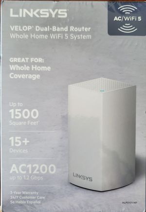 *Brand New* Linksys Velop Dual-Band Router for Sale in Sugar Land, TX