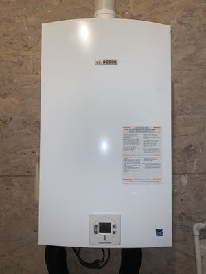 Bosch tankless water heater/gas for Sale in Seattle, WA