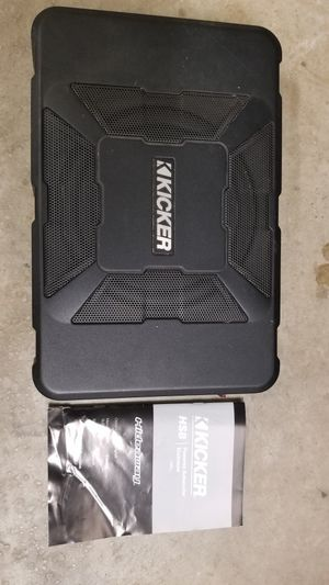 Kicker hs8 subwoofer for Sale in Hutto, TX