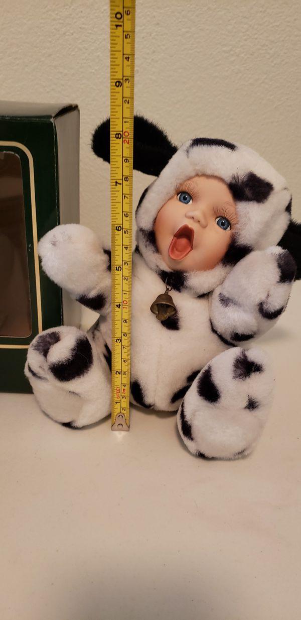 "NEW 4 Geppedo Porcelain Face Cuddle Kids 8"" $22 Total or $8 Each (Santa Rosa)"