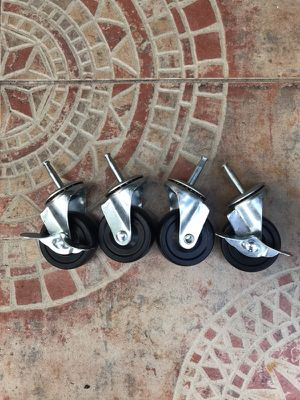 FOUR WHEELS FOR CHAIR for Sale in Hialeah, FL