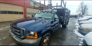 Ford F350 Powerstroke diesel flatbed stakebody w/liftgate for Sale in Washington, DC
