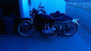 Bike 1975 Honda GL1000 side car 1953 married 5 yrs ago for Sale in Aurora, CO