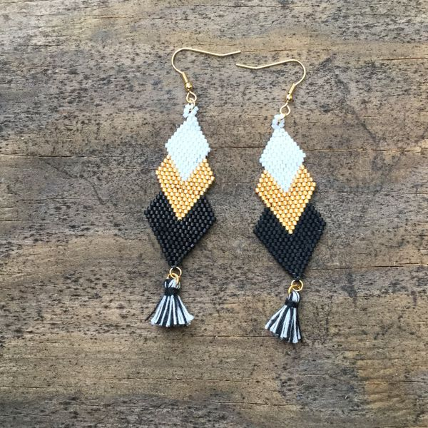 Handmade bohemian earrings I do only ship through OfferUp